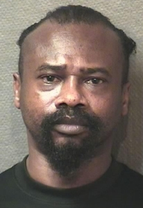 David Ray Conley III, 48, is seen in a booking photo. (Credit: Harris County Sheriff's Office)
