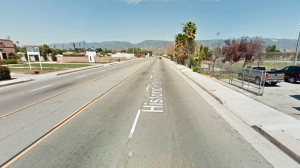 The 1300 block of North Mount Vernon Avenue is seen in this image from Google Maps.