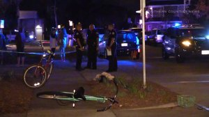 Newport Beach were investigating a hit-and-run that left a teenage bicyclist injured in the Balboa Peninsula area on Aug. 11, 2015. (Credit: Southern Counties News)