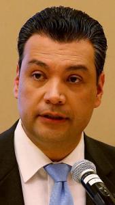 California Secretary of State Alex Padilla is shown. (Credit: Luis Sinco / Los Angeles Times)