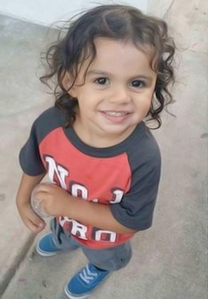Jonathan Montes, 2, is seen in a photo provided by his family.