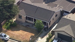 Police and firefighters were called to a home in El Monte Wednesday morning. (Credit: KTLA)