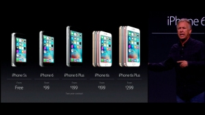 """Apple on Wedenesday, September 9, 2015, unveiled the new iPhone 6S and 6S Plus as the """"most advanced smartphones in the world,"""" Cook said. (Credit: Apple)"""