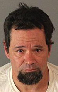 The Riverside County Sheriff's Department released this booking photo of Jason Johnson on Sept. 17, 2015.