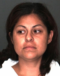 Martha Fabiola Castillo is seen in this image provided by the Fontana Police Department.