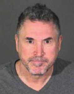 The Los Angeles Police Department has released this booking photo of Michael Bernback.