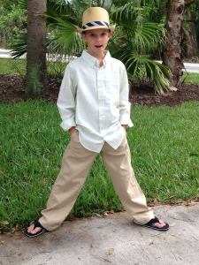 Peyton McCaughey, 10, fell ill after his home was fumigated, a family attorney says. (From Ed Gribben via CNN)