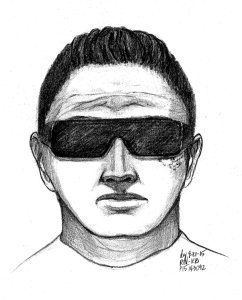 Riverside police released this sketch of a man wanted in connection with the sexual assault of a teenage girl, which they say occurred on Sept. 19, 2015.