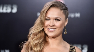 Ronda Rousey attends Lionsgate Films' 'The Expendables 3' premiere at TCL Chinese Theatre on August 11, 2014. (Credit: Frazer Harrison/Getty Images)