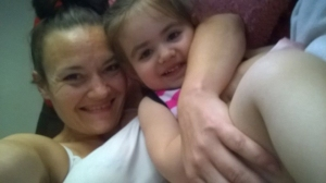 Rachelle and Bella Bond are shown in a photo from Facebook distributed by the CNN Wire.