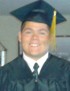 Anthony Camacho is seen in this undated photo provided by family friends on Sept. 14, 2015, after they identified him as the pedestrian struck by a police vehicle in Rialto the previous night.