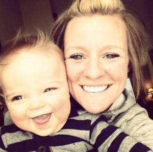 Amanda Blackburn is seen with her son, Weston, in an undated family photo provided by Resonate Church.