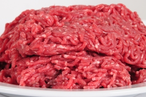 Ground beef is seen in this file photo from Shutterstock.