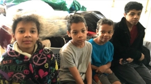 Georgia state Trooper Nathan Bradley posted this photo of the four kids on a GoFundMe page.