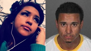 Antonio Medina, right, was being sought in connection with the death of Kassandra Ochoa. (Credit: Instagram, Los Angeles County Sheriff's Department)
