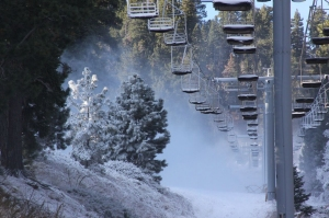 Mountain High in Wrightwood opened for the 2015-2016 season on Nov. 6, 2015. (Credit: Mountain High)