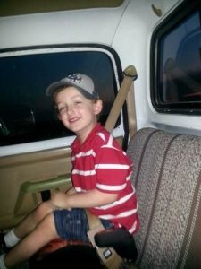 Jeremy Mardis is seen in a photo posted on his father's Facebook. The 6-year-old was shot and killed on Nov. 3, 2015, during a police pursuit in Louisiana.