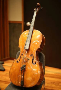 The Glendale Police Department provided this image of a 300-year-old cello that was stolen in November 2015.