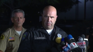 San Bernardino Police Department Chief Jarrod Burguan speaks during a news conference on Dec. 3, 2015 in San Bernardino. (Credit: KTLA)