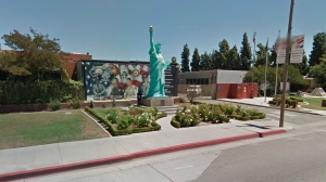 The El Monte Police Department is seen in this image from Google Maps.
