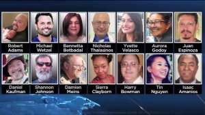 The 14 victims killed in a mass shooting in San Bernardino are pictured. (Credit: CNN)