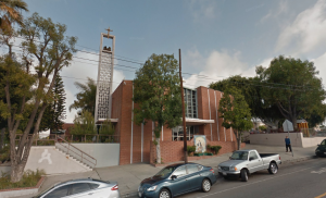 Church of Assumption in Boyle Heights is shown. (Credit: Google Maps)