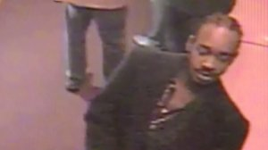Police released surveillance footage showing a man they say killed another man outside The Standard hotel in downtown L.A. on Dec. 13, 2015.