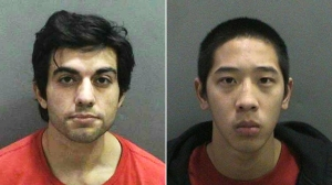 Hossein Nayeri and Jonathan Tieu, right, are shown in photos distributed by OCSD.