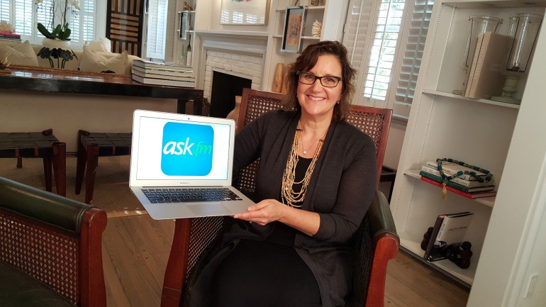 Catherine Teitelbaum is the Chief Safety Officer at Ask.fm