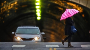 Several winter storms are expected dump up to 6 inches of rain in and around Los Angeles this week. (Credit: Irfan Khan / Los Angeles Times)