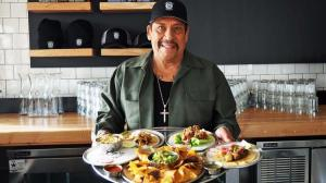 """Here, we wanted to include everybody, so we have a great vegan menu and gluten-free menu,"" Danny Trejo said of his new Trejo's Tacos. (Credit: Jenn Harris / Los Angeles Times)"