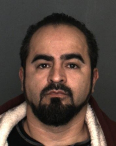 Cesar Rosales is shown in a booking photo provided by the Fontana Police Department on Jan. 15, 2016.
