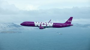 Wow Air began operating flights from Los Angeles to Iceland on June 15. (Credit: Wow Air)