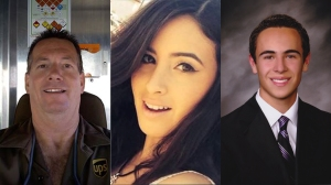 Scott Treadway, Michelle Littlefield, and Brian Lewandowski all died when a suspected street race triggered a violent crash on the 5 Freeway in Commerce on Feb. 27, 2016.