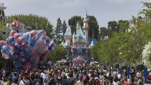 "Disneyland at 60: the ""happiest place on Earth,"" but by no means the cheapest. (Credit: Allen J. Schaben / Los Angeles Times)"