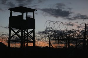 A watch tower is seen on June 27, 2013 in Guantanamo Bay, Cuba. (Credit: Joe Raedle/Getty Images)