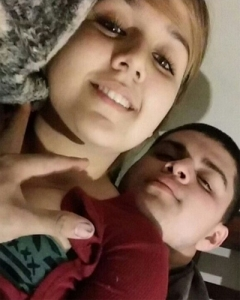 Henry Sanchez Gonzalez is pictured with Maria Cordova in a photo posted on his GoFundMe page.