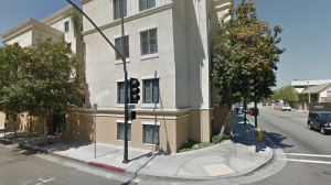 The 100 block of North Raymond Avenue in Pasadena is seen in an undated file photo. (Credit: Google Maps)