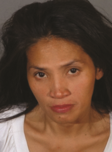 The West Covina Police Department provided this booking photo of Mary Grace Trinidad, shown during a Jan. 3, 2016, arrest.