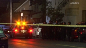 Police were searching for a gunman who was allegedly armed with a high-powered rifle in Arlington Heights Wednesday morning. (Credit: ANG.News)