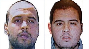 Brothers Khalid and Brahim El Bakraoui are suspected of detenonating explosives in the March 22, 2016, Brussels attacks. (Credit: RTBF)