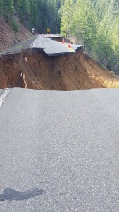 Another photo shows the state State Route 3 on March 16, 2016. (Credit: Caltrans District 2)