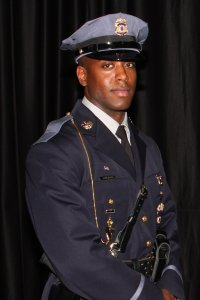 The fallen officer as Jacai Colson, a four-year veteran of the Prince George's County Police Department. (Credit: @PGPDNEWS/Twitter)