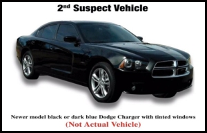 LASD released this image showing a Dodge Charger similar to the one that was racing before a fatal 5 Freeway crash on Feb. 27, 2016.