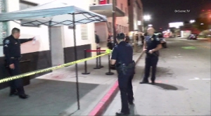 A man was fatally stabbed during a punk rock show at a Santa Ana club on March 3, 2016. (Credit: OnScene.TV)
