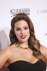 Model Ashley Graham attends the Sports Illustrated Celebrates Swimsuit 2016 at Brookfield Place on February 16, 2016 in New York City. (Credit: Bennett Raglin/Getty Images)