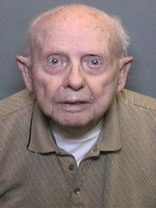 A booking photo of Kenneth LeRoy Collins, 96, was provided by the Orange County Sheriff's Department.