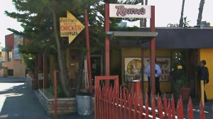 The Roscoe's Chicken 'N Waffles located in West Los Angeles is seen in this file photo. (Credit: KTLA)