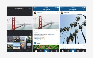 Instagram announced that it was testing a change to its news feed. (Credit: Instagram)
