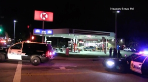 A 12-year-old boy was fatally shot and a 14-year-old was wounded in San Bernardino on March 13, 2016. (Credit: Newspro News HD)